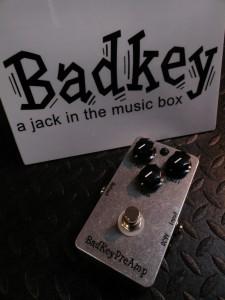 BadKey/Pre Amp PA-1(新品)