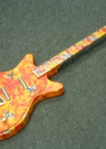 Danelectro/psychedelic 60'S hand made painted