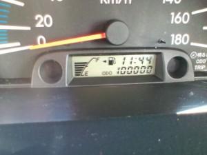 """祝""""100000km"""""""
