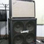 Fender/Ultimate chorus&Laney cabinet