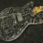 "ESP/Acrylic Les paul ""SHOW MODEL"""