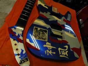 神風ギターです。