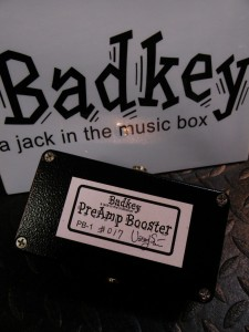BadKey/PreAmp Booster PB-1(新品)